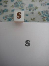 サイズスタンプ:S