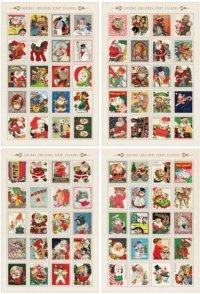 クリスマス☆タイニースタンプステッカー(1シート80枚入り)