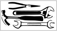カスタム仕様アイロンシート(艶消しラバーシート): 工具