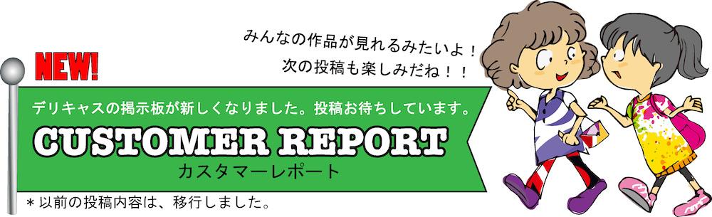 カスタマーレポート