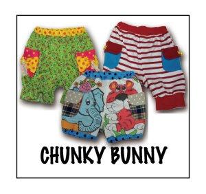 画像1: CHUNKY BUNNY☆3wayかぼちゃパンツ  (型紙/仕様書あり)