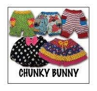 CHUNKY BUNNY☆3wayかぼちゃパンツ&2styleキュロットセット  (型紙/仕様書あり)