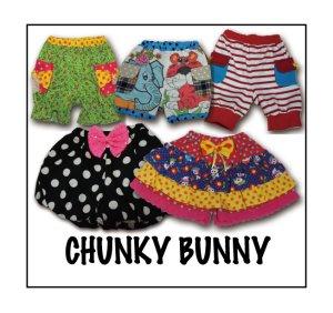 画像1: CHUNKY BUNNY☆3wayかぼちゃパンツ&2styleキュロットセット  (型紙/仕様書あり)