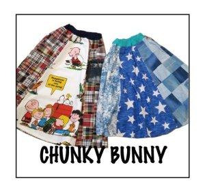 画像1: CHUNKY BUNNY☆ 6パネルフレアスカート  大人用(型紙/仕様書あり)