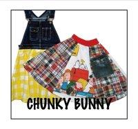 CHUNKY BUNNY☆ 6パネルフレアスカート (型紙/仕様書あり)