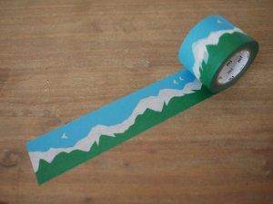 画像1: マスキングテープ: mountain(10m1巻)