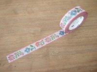 マスキングテープ:刺繍(10m1巻)