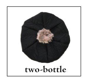 画像1: two-bottle☆ニットベレー帽 4サイズセット (型紙/仕様書あり)