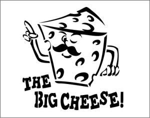 画像1: デリキャスオリジナル☆ステンシルシート:ビッグチーズ