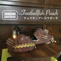 jam jam apartment☆チョウチンアンコウポーチ(型紙/仕様書あり)
