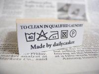 カスタム仕様スタンプ:洗濯表示2