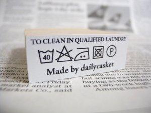 画像1: カスタム仕様スタンプ:洗濯表示2