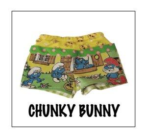 画像1: CHUNKY BUNNY☆ヒップハンガーホットパンツ  (型紙/仕様書あり)