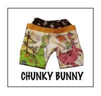 CHUNKY BUNNY☆ヒップハンガーハーフパンツ (型紙/仕様書あり)