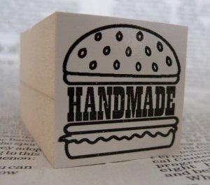 画像1: カスタム仕様スタンプ:ハンバーガー