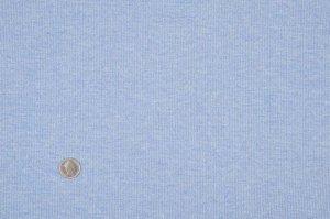 画像1: SALE生地:ガーゼ杢裏毛(ブルー)