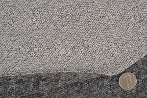 画像3: セレクト生地:ローゲージ霜降り裏毛(ブラック)