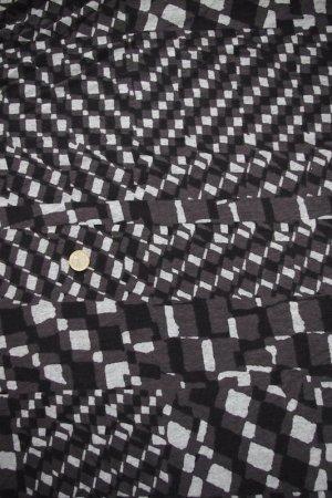 画像3: SALE生地:四角モザイク柄天竺(ブラック)