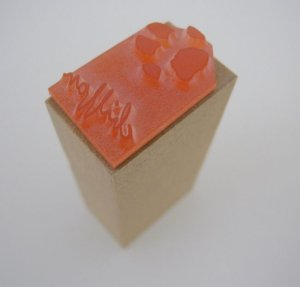 画像3: カスタム仕様肉球はんこ:2×3サイズ(ピスネーム用)