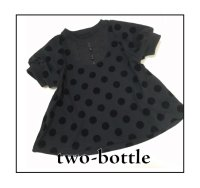 two-bottle☆パフ袖チュニック (型紙/仕様書あり)
