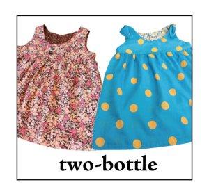 画像1: two-bottle☆リボンチュニック (型紙/仕様書あり)