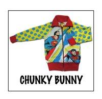 CHUNKY BUNNY☆3collarリバーシブルジャージ  (型紙/仕様書あり)